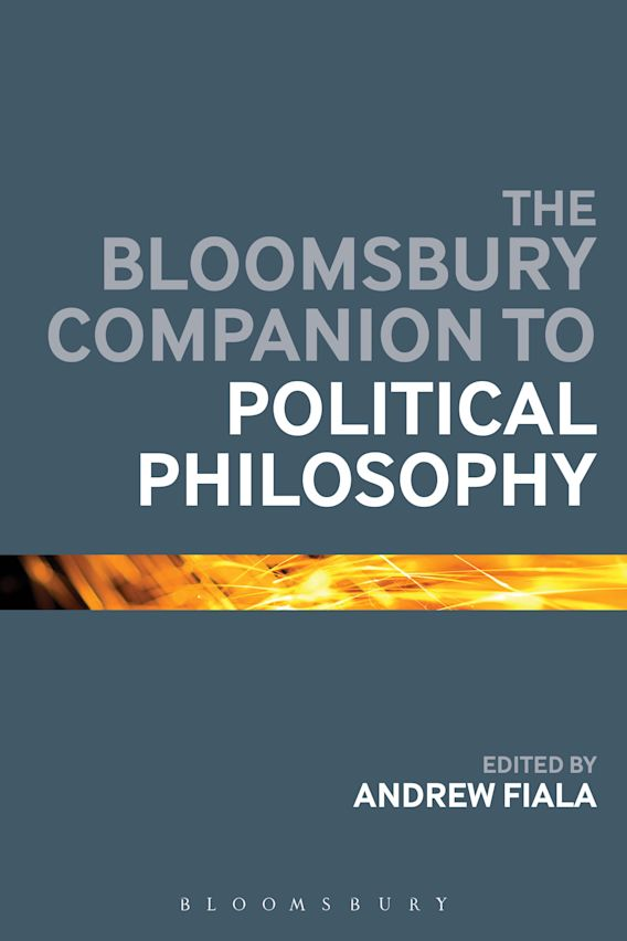 The Bloomsbury Companion to Political Philosophy cover