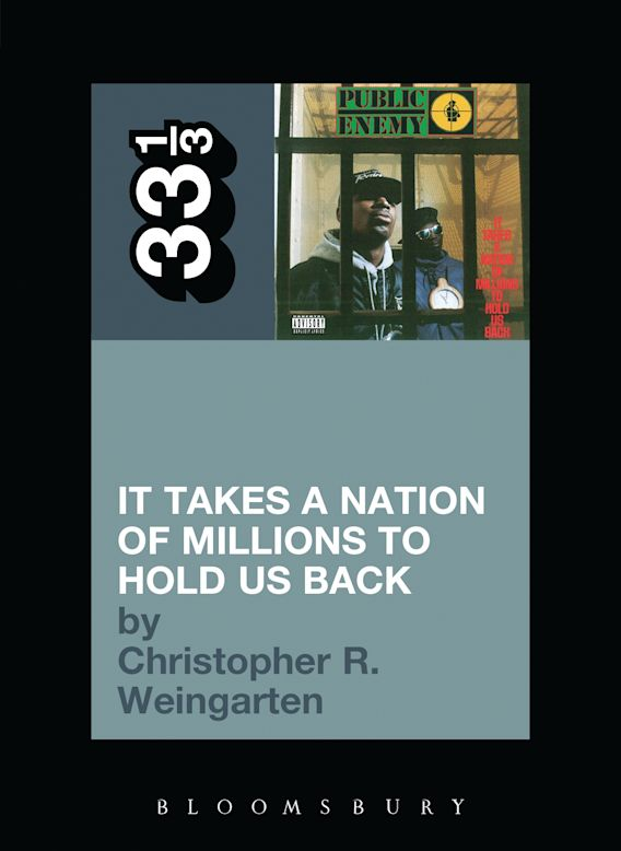Public Enemy's It Takes a Nation of Millions to Hold Us Back cover