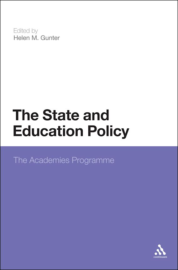 The State and Education Policy: The Academies Programme cover