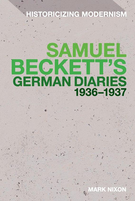 Samuel Beckett's German Diaries 1936-1937 cover