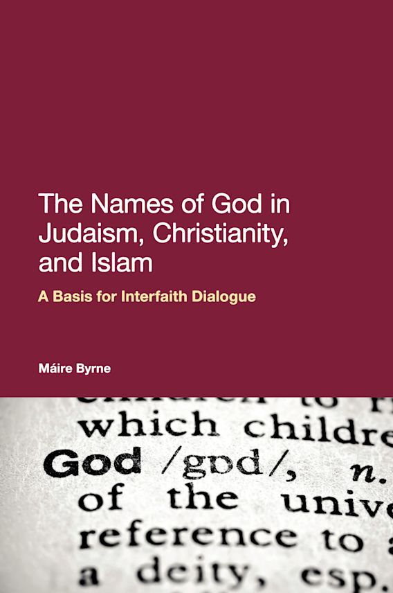 The Names of God in Judaism, Christianity, and Islam cover