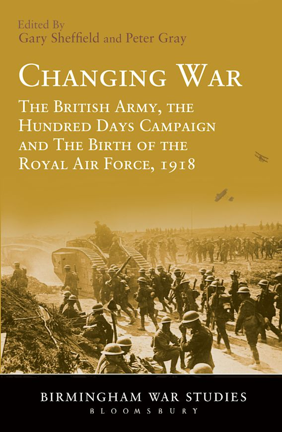Changing War cover