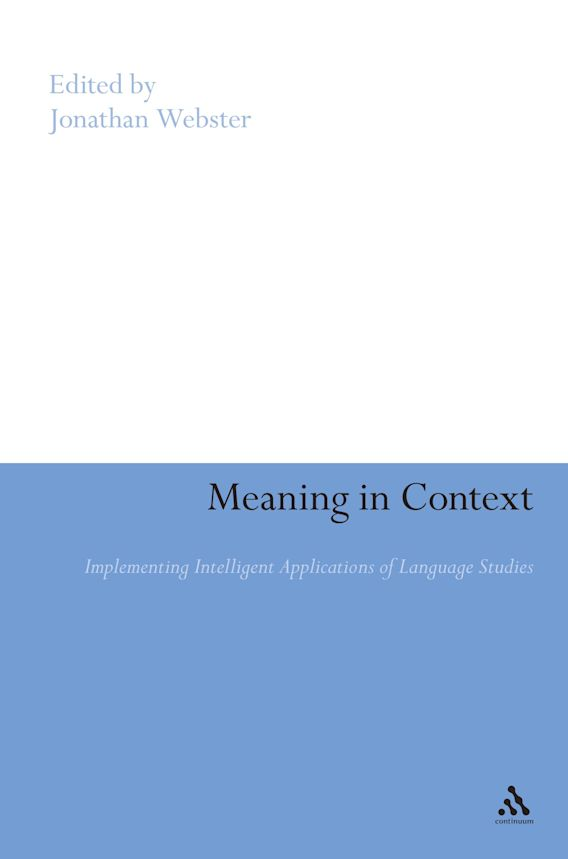 Meaning in Context cover