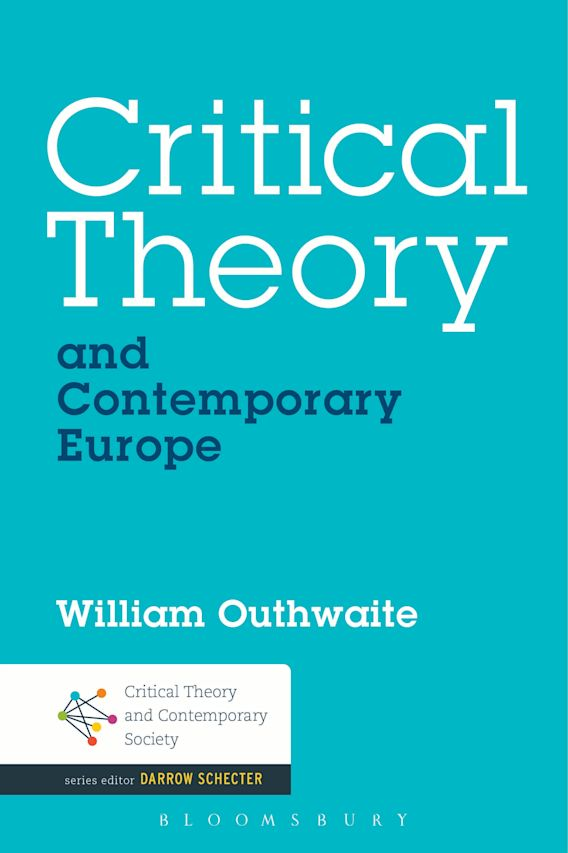 Critical Theory and Contemporary Europe cover