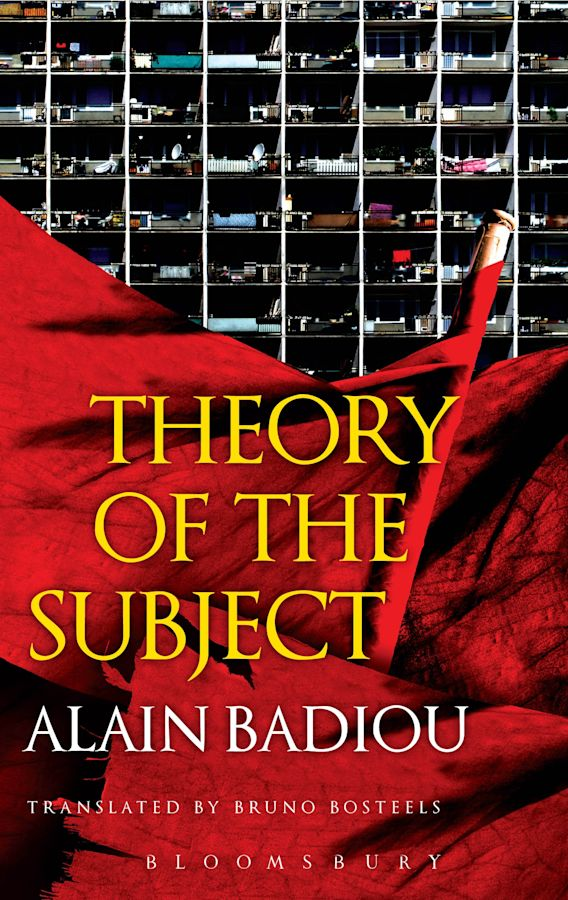 Theory of the Subject cover