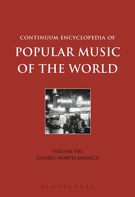 Continuum Encyclopedia of Popular Music of the World Volume 8 cover