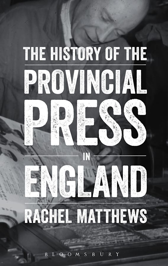 The History of the Provincial Press in England cover