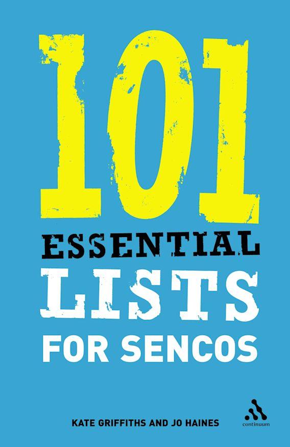 101 Essential Lists for SENCOs cover