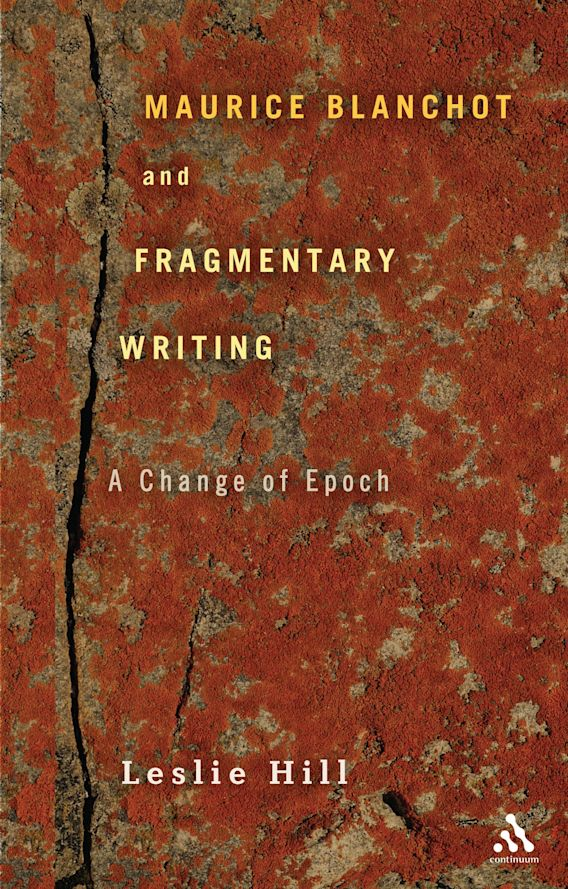 Maurice Blanchot and Fragmentary Writing cover