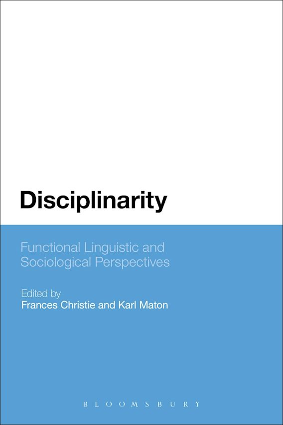 Disciplinarity: Functional Linguistic and Sociological Perspectives cover