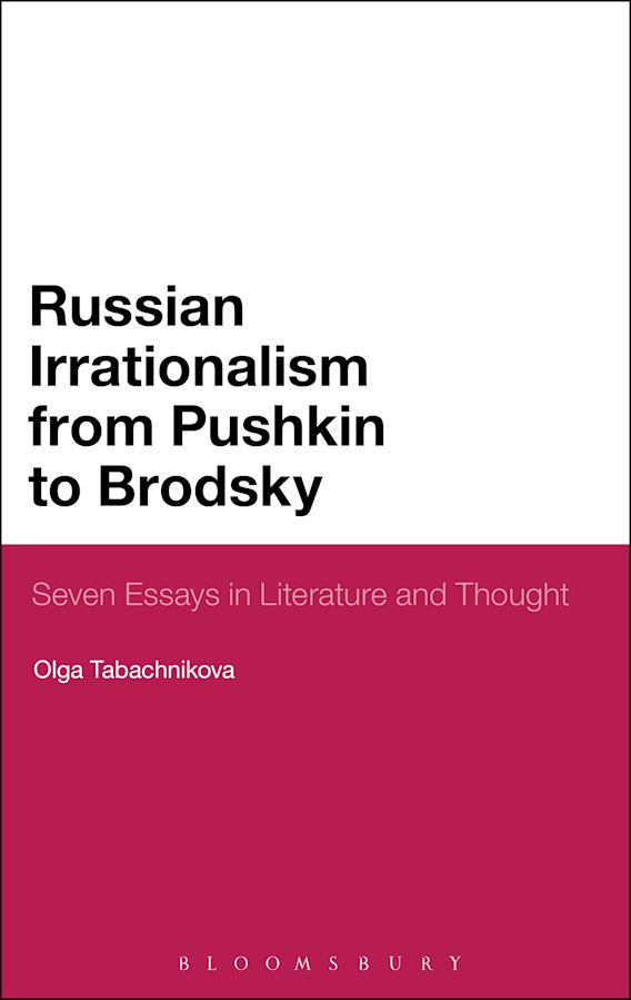 Russian Irrationalism from Pushkin to Brodsky cover