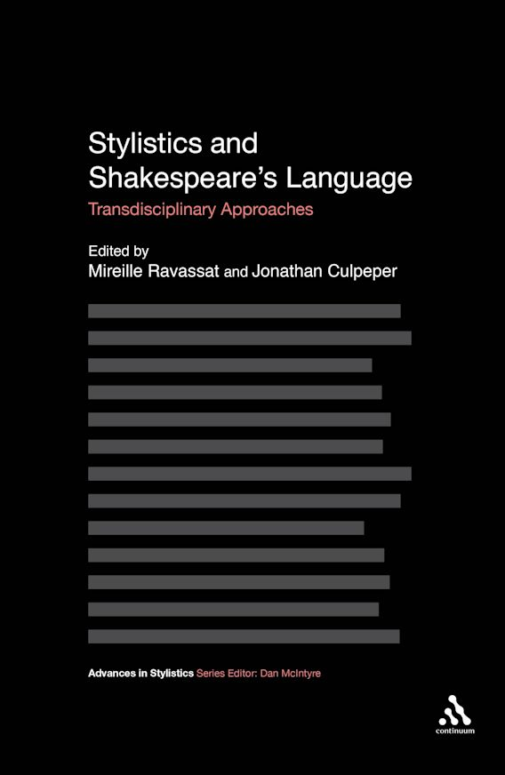 Stylistics and Shakespeare's Language cover