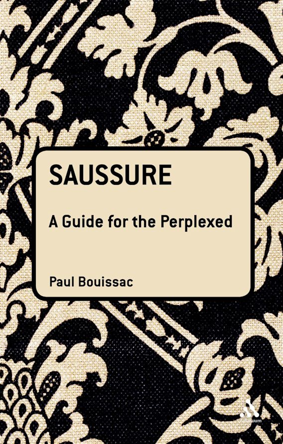 Saussure: A Guide For The Perplexed cover