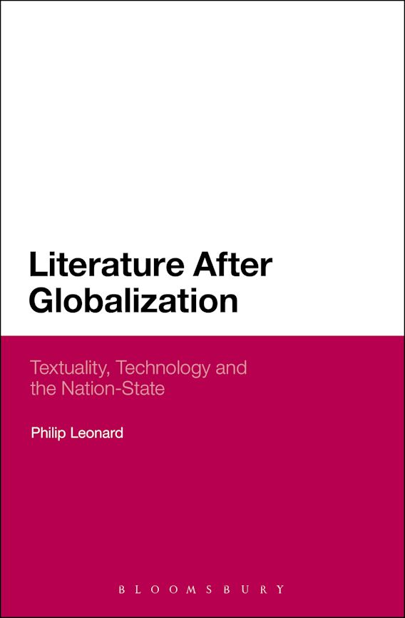Literature After Globalization cover