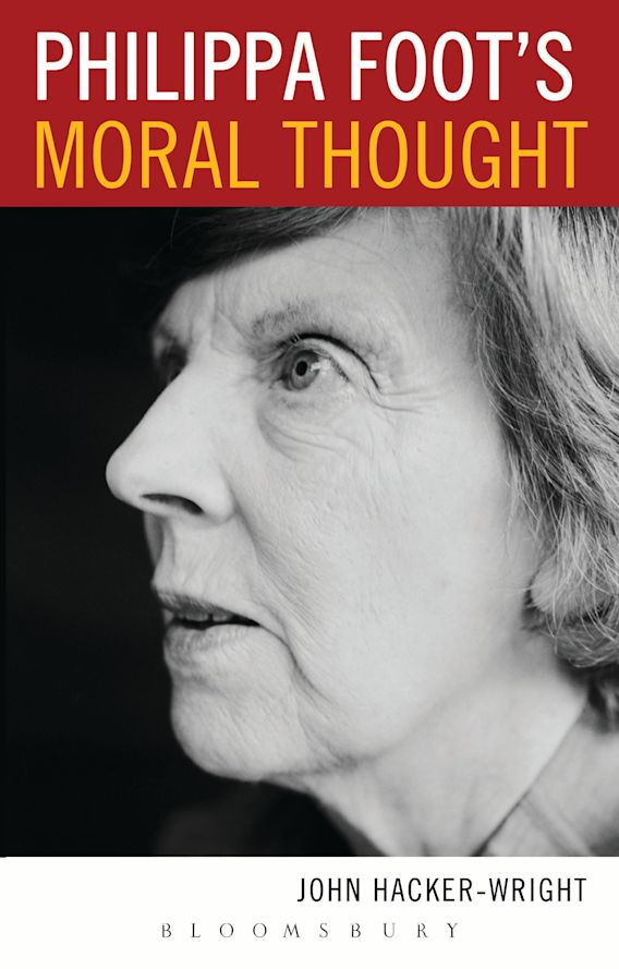 Philippa Foot's Moral Thought cover