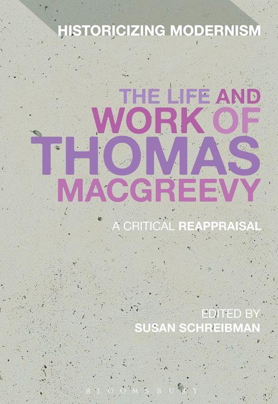 The Life and Work of Thomas MacGreevy cover