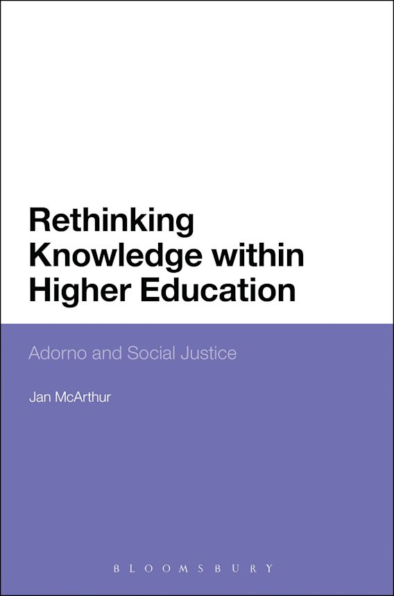 Rethinking Knowledge within Higher Education cover