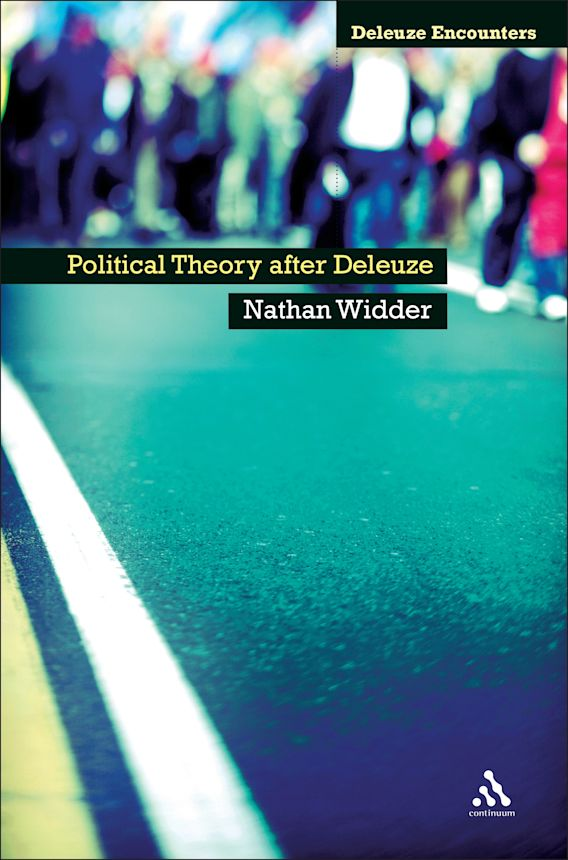 Political Theory After Deleuze cover