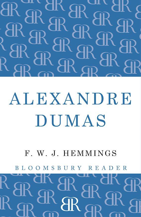 Alexandre Dumas cover