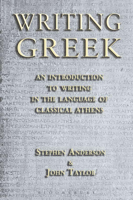 Writing Greek cover