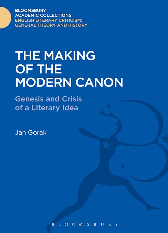 The Making of the Modern Canon cover