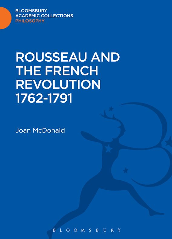 Rousseau and the French Revolution 1762-1791 cover