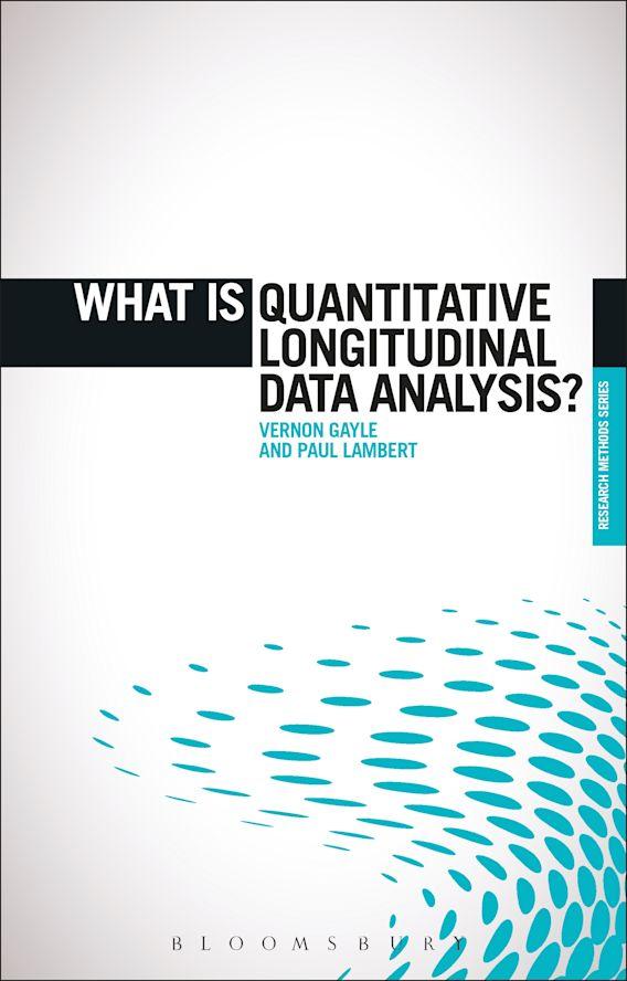 What is Quantitative Longitudinal Data Analysis? cover