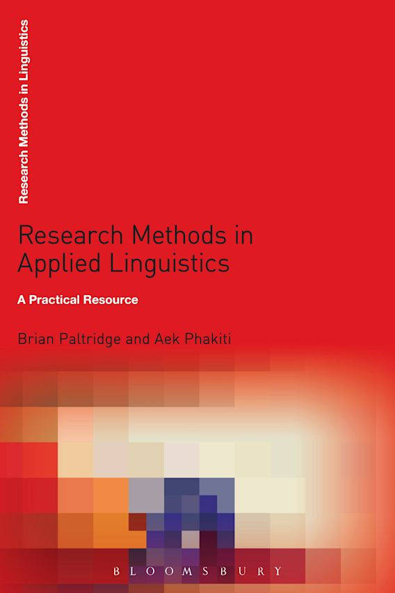 Research Methods in Applied Linguistics cover