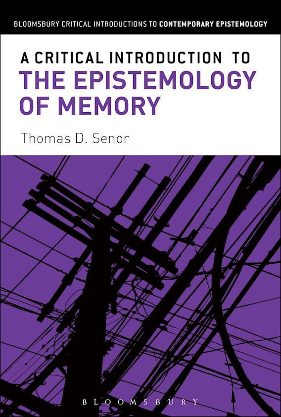 A Critical Introduction to the Epistemology of Memory cover