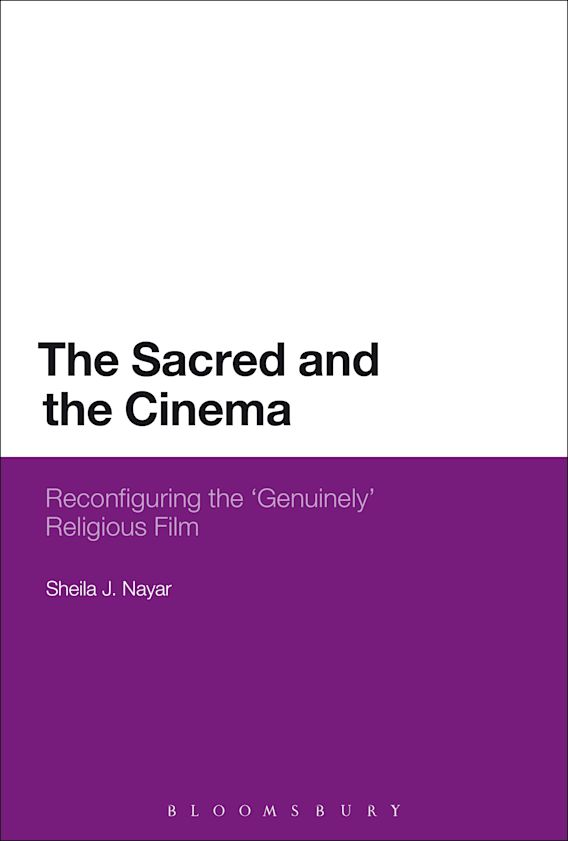 The Sacred and the Cinema cover