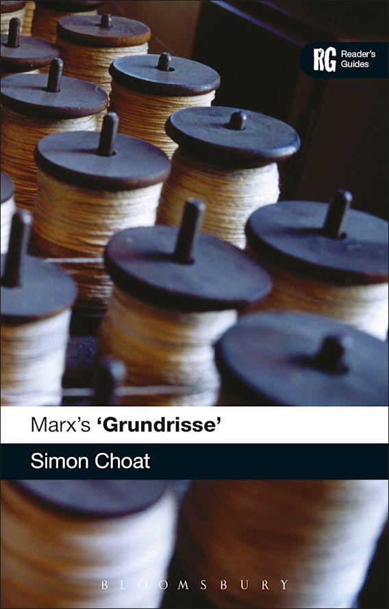 Marx's 'Grundrisse' cover