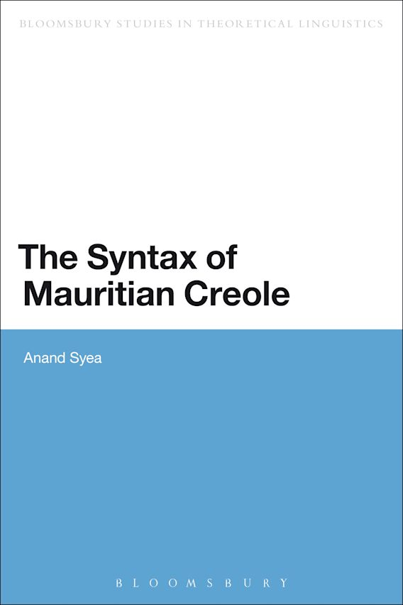 The Syntax of Mauritian Creole cover