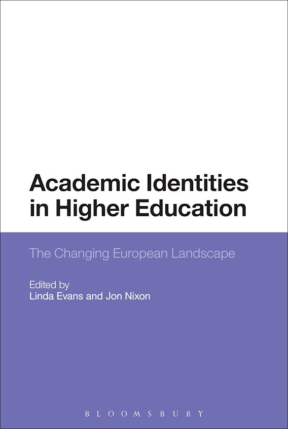 Academic Identities in Higher Education cover