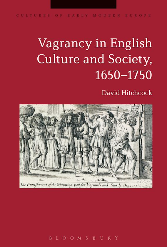 Vagrancy in English Culture and Society, 1650-1750 cover