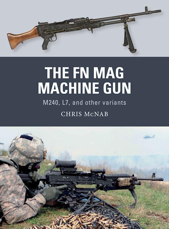 The FN MAG Machine Gun cover
