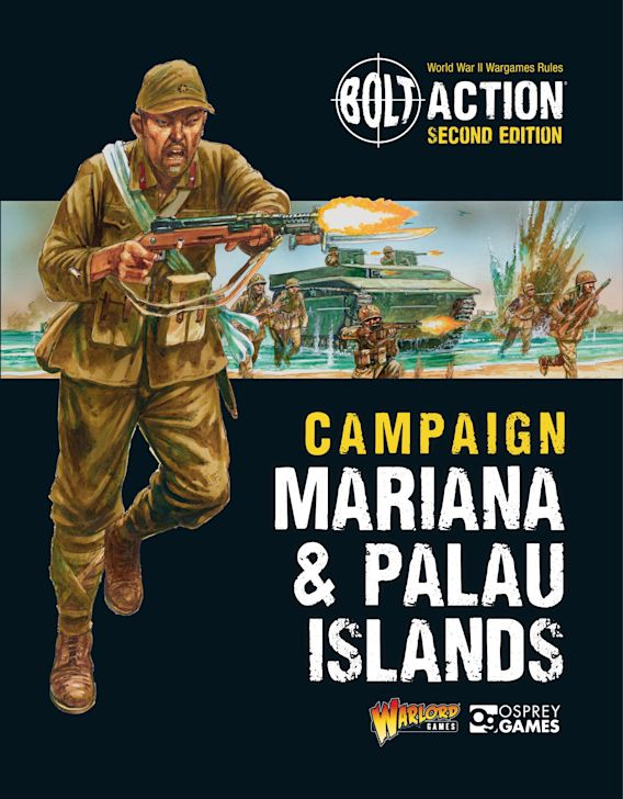 Bolt Action: Campaign: Mariana & Palau Islands cover