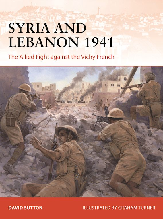 Syria and Lebanon 1941 cover