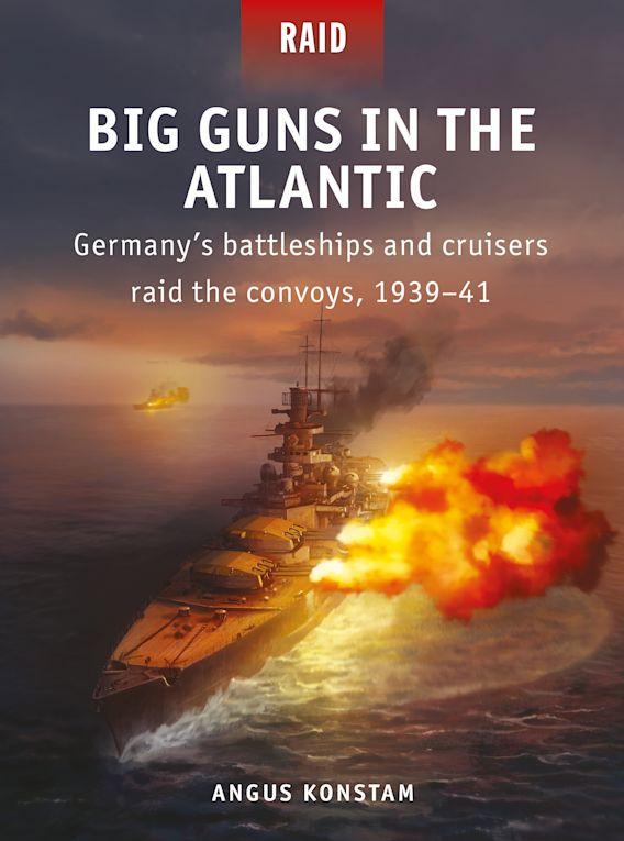 Big Guns in the Atlantic cover