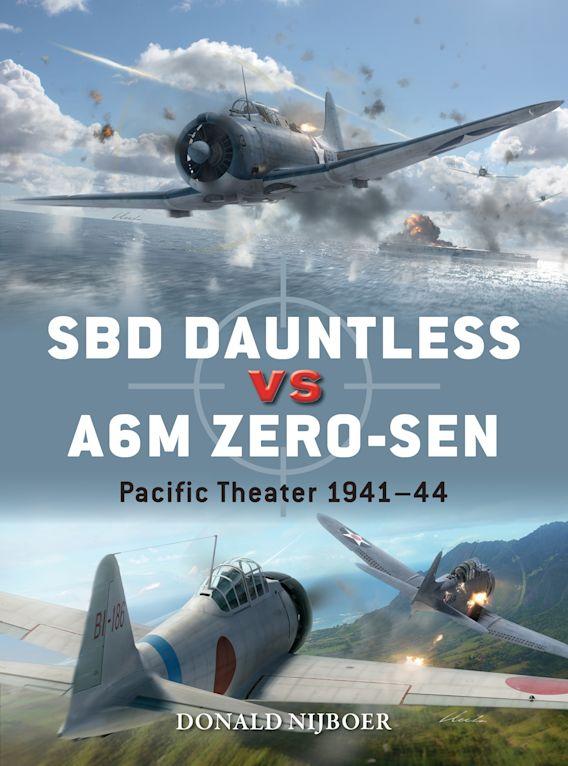 SBD Dauntless vs A6M Zero-sen cover