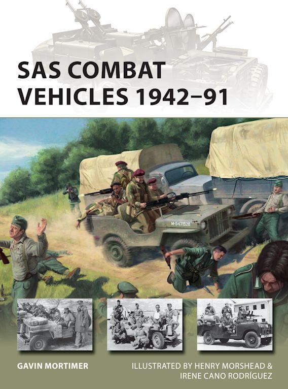 SAS Combat Vehicles 1942–91 cover