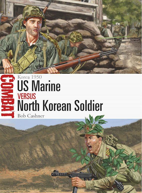 US Marine vs North Korean Soldier cover