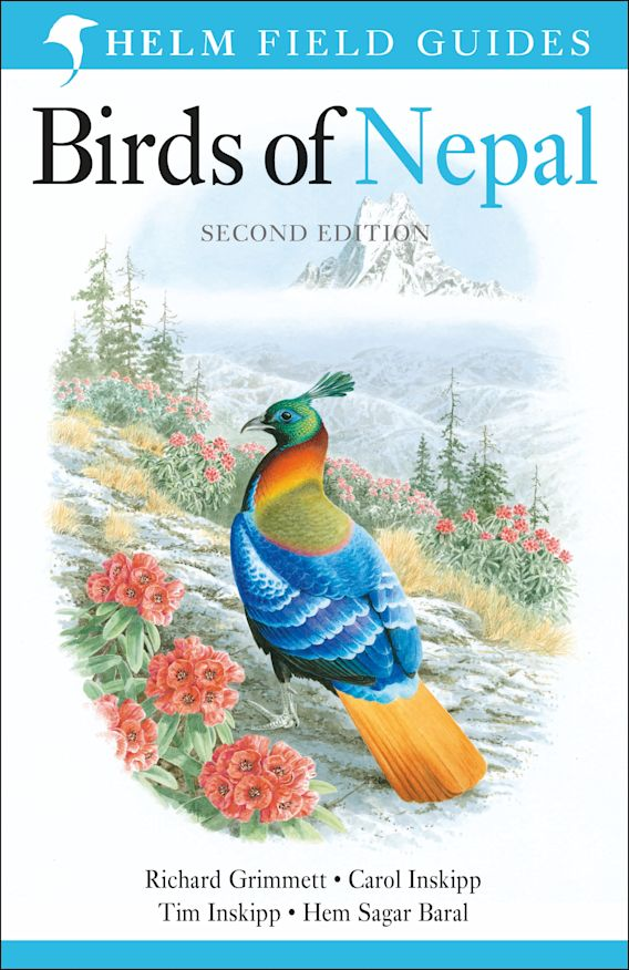 Birds of Nepal cover