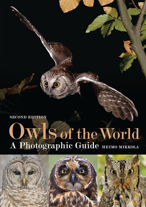Owls of the World - A Photographic Guide cover