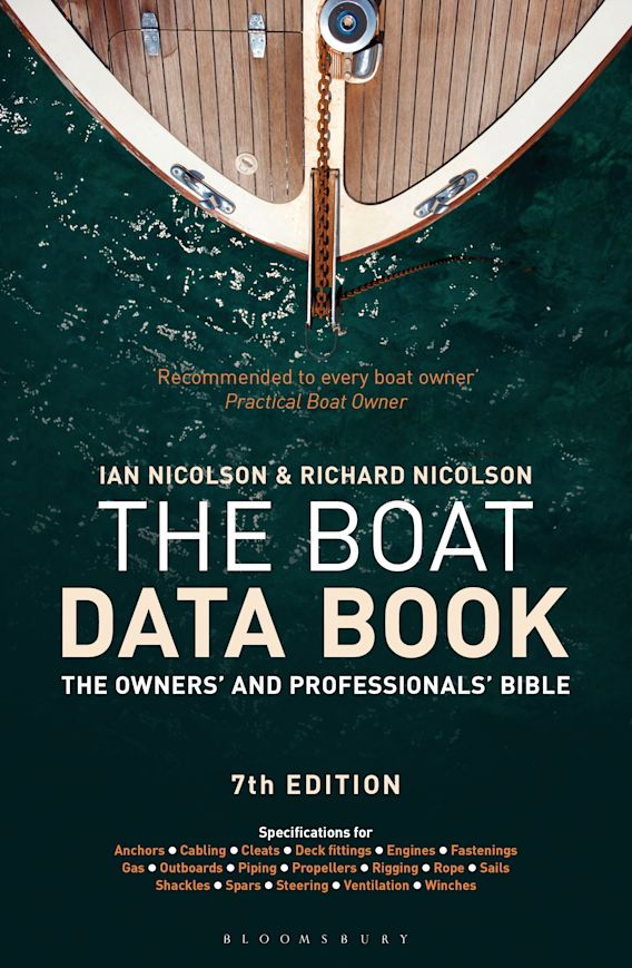 The Boat Data Book cover