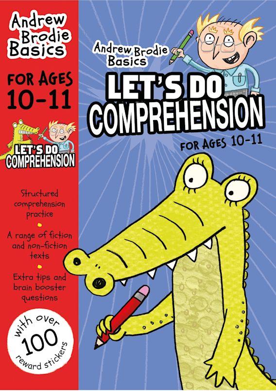 Let's do Comprehension 10-11 cover