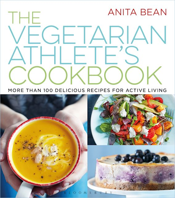 The Vegetarian Athlete's Cookbook cover