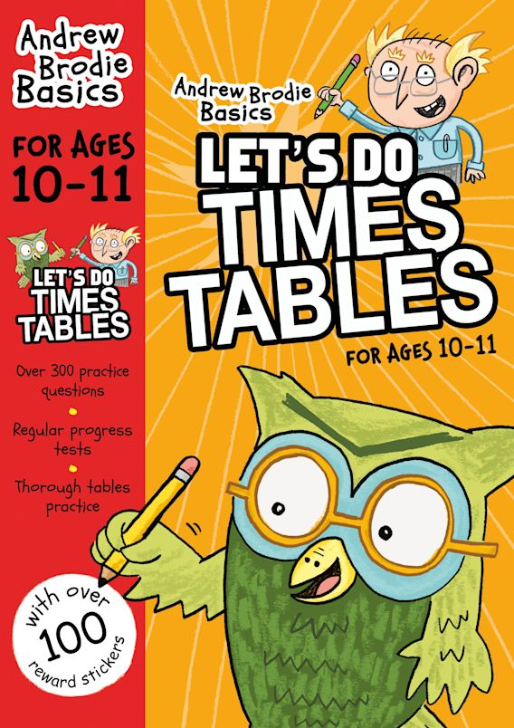 Let's do Times Tables 10-11 cover