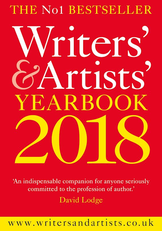 Writers' & Artists' Yearbook 2018 cover