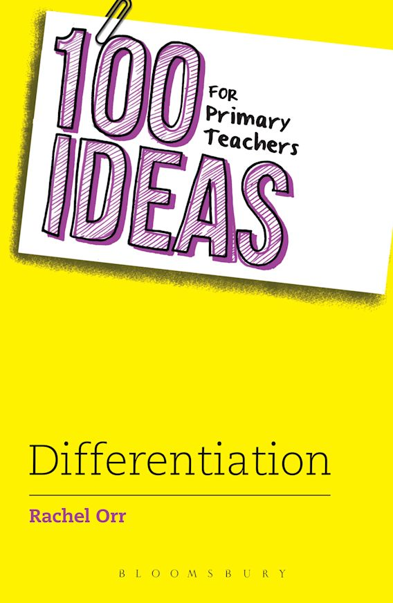 100 Ideas for Primary Teachers: Differentiation cover