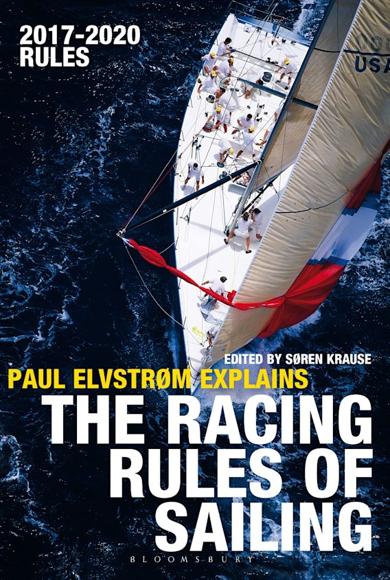 Paul Elvstrom Explains the Racing Rules of Sailing cover